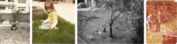 enfants aux jardin