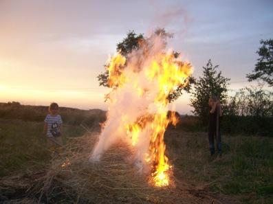 feu de jardin