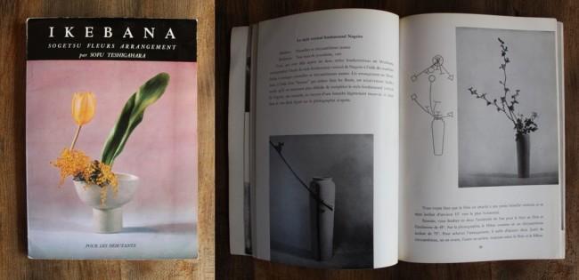 Livre sur l 'Ikebana
